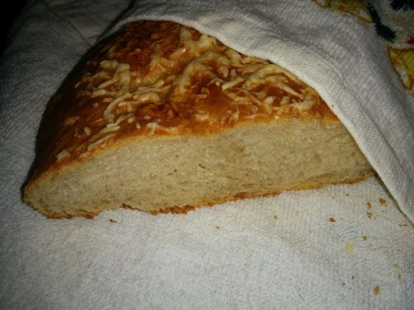 Сырный хлеб - косичка