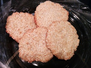 печенье-кунжутное
